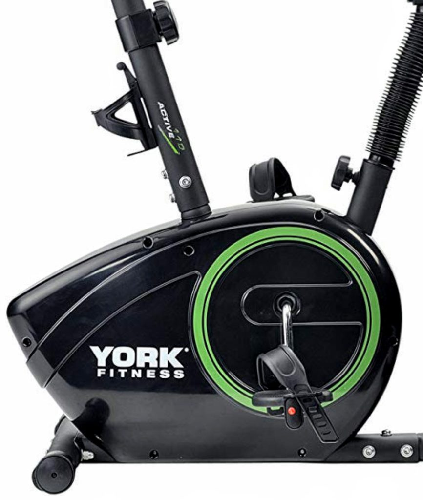 York Active 110 Exercise Bike Pedals