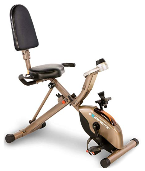 Exerpeutic 525XLR Folding Exercise Bike