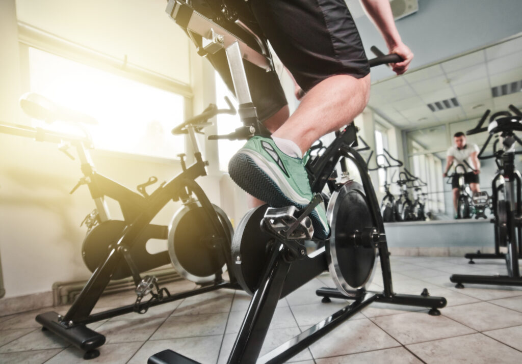 Building Leg Muscles on Spin Bike