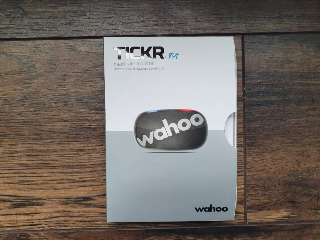 Front of Wahoo Tickr Box