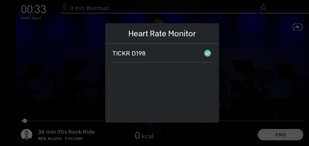 Connecting Wahoo Tickr to Peloton